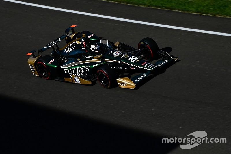 Carpenter lidera terceiro dia em Indy; Alonso é quarto