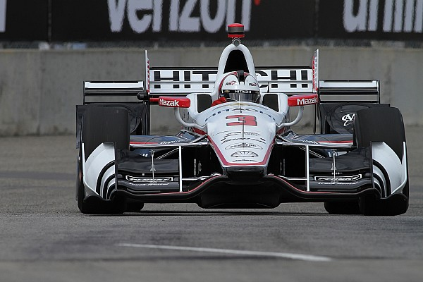 IndyCar Detroit: Castroneves en Rahal snelste in trainingen