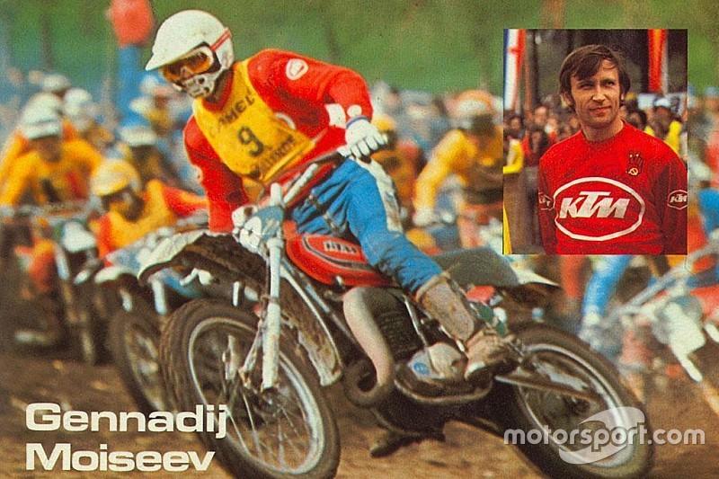 Умер трехкратный чемпион мира по мотокроссу Геннадий Моисеев