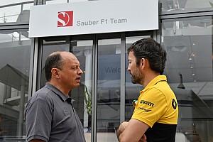F1 Noticias de última hora Sauber quiere concretar un nuevo proveedor de motores antes de las vacaciones