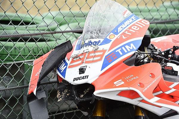 MotoGP San Marino registró nuevo récord absoluto de caídas