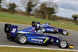 BF3 Qualifying report Rockingham BF3: Norris leads Carlin 1-2 in qualifying