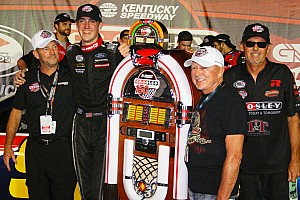 ARCA Race report Austin Cindric earns first oval stock car win in ARCA race