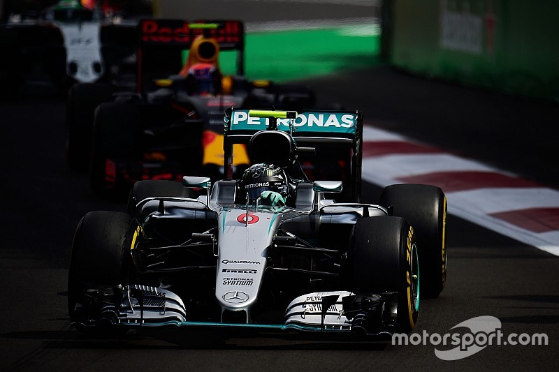 Rosberg feared his race was done after Verstappen contact