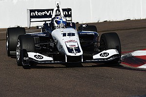 Indy Lights Qualifying report Kaiser takes maiden Lights pole at St. Pete