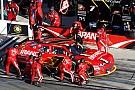 Emergency landing prevents JRM pit crew members attending Xfinity race