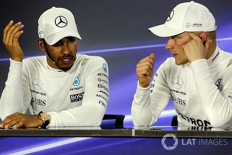 """Mercedes necesita """"tensión y estrés"""" entre sus pilotos, según Wolff"""