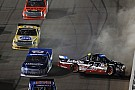 NASCAR Truck Rhodes and Cindric collide in battle to advance into final four