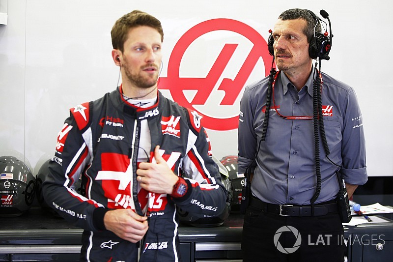 Para Haas no es problema la falta de puntos de Grosjean