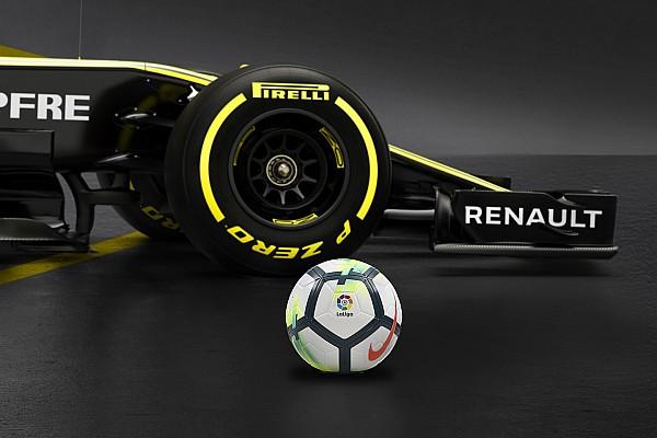 Formule 1 Actualités Renault Sport F1 s'associe au championnat espagnol de football
