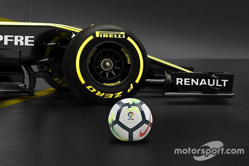Renault anuncia patrocínio da Liga Espanhola de Futebol