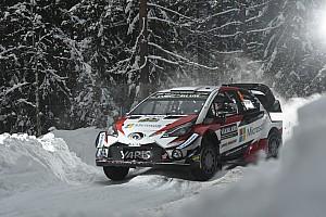 Toyota arranca el Rally de Suecia dominando