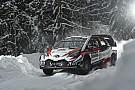 WRC Tanak manda en el arranque en Suecia