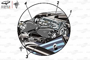 Formula 1 Analysis The secrets behind the Mercedes front suspension