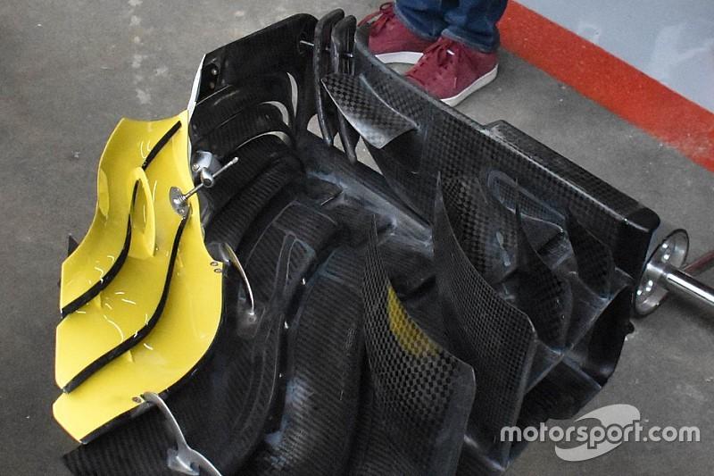 Renault: doppio flap in coda alla paratia laterale proprio come sulla Rossa