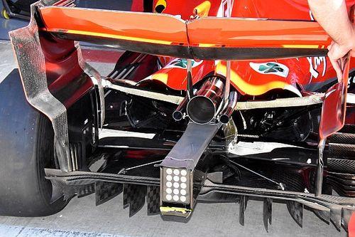 Formel-1-Technik: Detailfotos beim GP Großbritannien in Silverstone