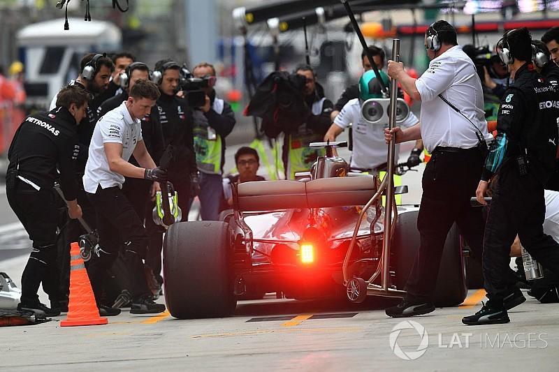 Mercedes созналась в тактическом просчете на Гран При Китая