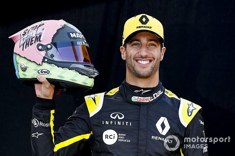 Ricciardo Ha Svelato I Nuovi Colori Del Casco Che Indosserà Nel