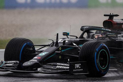 Hamilton supera dilúvio e conquista pole para GP da Estíria