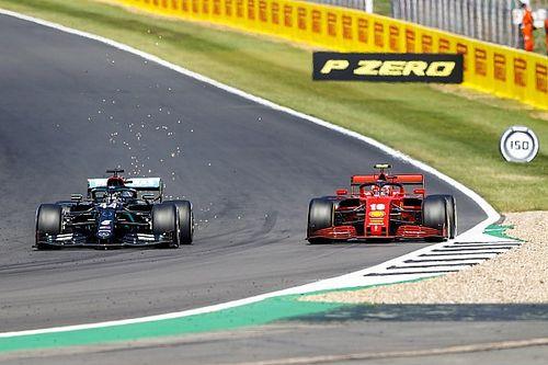 Hamilton nagyszerű reflexmozdulata Leclerc ellen: közel volt... (videó)