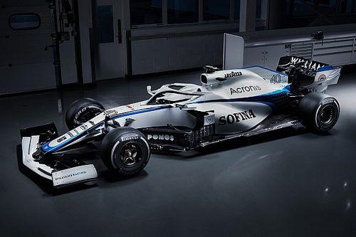 Williams divulga nova pintura para temporada 2020 da F1 após fim de contrato com patrocinador master