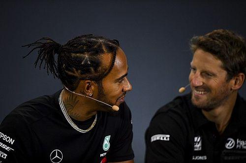 Grosjean cree que el salario de Hamilton es indecente