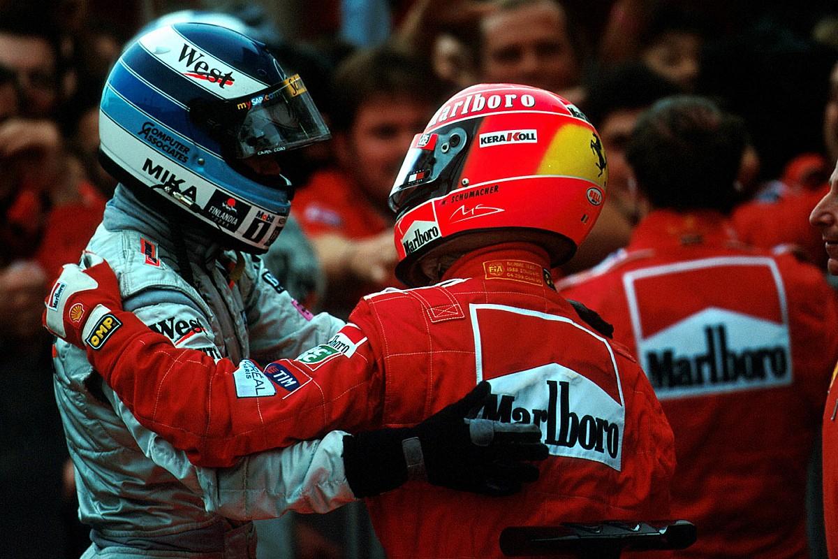 Amit talán még soha nem láttál: Schumacher Vs. Häkkinen 1990-ből (videó)