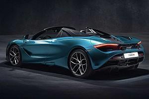 McLaren 720S Spider unveiled to fight Ferrari 488 Spider