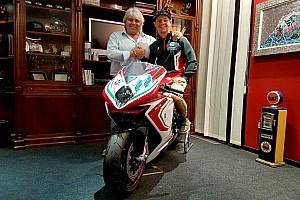 Aegerter correrá con MV Agusta en 2019
