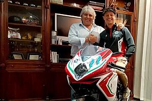 Dominique Aegerter fährt 2019 Moto2 für MV Agusta