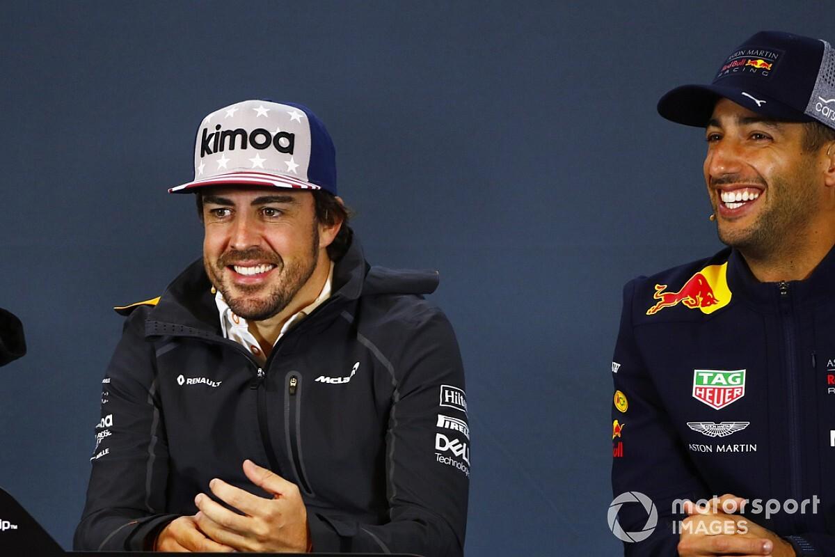Alonso se diz feliz por Hamilton igualar Fangio