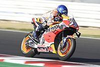 Marquez voor Yamaha-trio in warm-up GP Emilia-Romagna