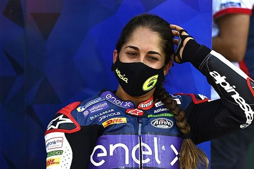 Maria Herrera in Supersport con Biblion Motoxracing nel 2021