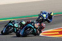 ¿Cuál fue el problema de Quartararo en el GP de Aragón?