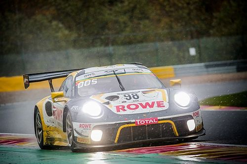 Spa 24 Hours: Porsche wins after late charge from Tandy