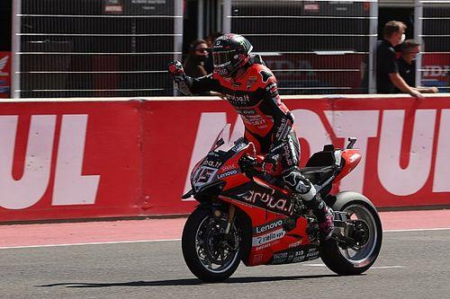 Redding 'badly wanted' WSBK win after Saturday crash
