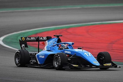 Martins voert F3-veld opnieuw aan in Barcelona, Van der Helm P24