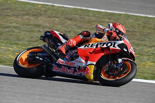 "Marquez ""careful"" with Honda MotoGP bike feedback"