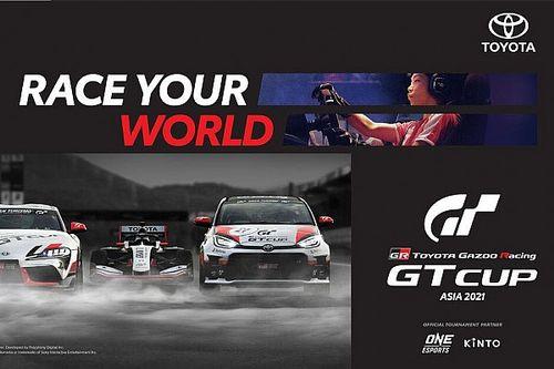 ONE Esports-Toyota Berkolaborasi Hadirkan TGR GT Cup Asia 2021