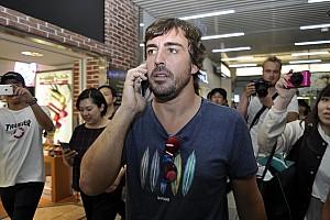 Fórmula 1 Noticias Cancelan evento de Alonso con sus fans en Tokio