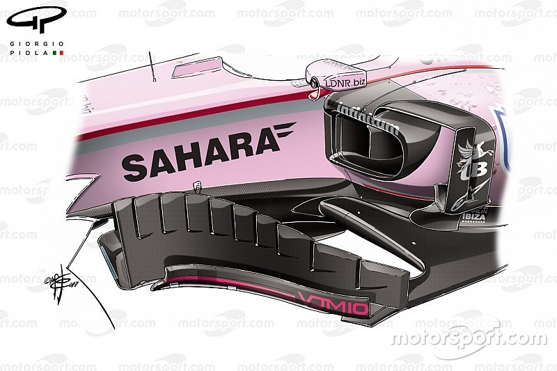 Formel-1-Technik: So optimierte Force India in Bahrain den VJM10