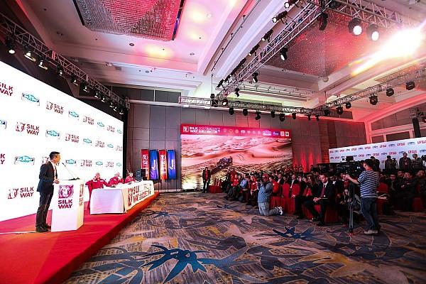 其他拉力赛 新闻发布会 传奇再续 2017丝绸之路拉力赛发布会在京举行