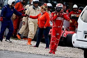 F1 テストレポート 【F1】バルセロナテスト2日目:ボッタス首位。ライコネンがクラッシュ