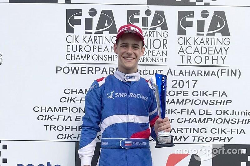 Российский гонщик Буланцев стал вице-чемпионом европейского картинга
