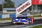 IMSA Trois Ford GT au départ des 12 Heures de Sebring