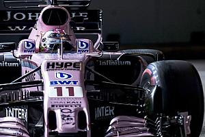 F1 Noticias de última hora Pérez se vio arruinado en la calificación por sus neumáticos