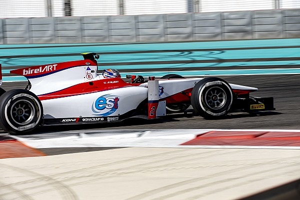 Дебютант Элбон стал быстрейшим во второй день тестов GP2