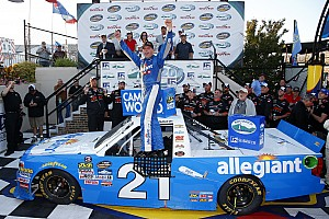 NASCAR Truck Race report Sauter scores first win of 2017 after strategy puts him in the lead