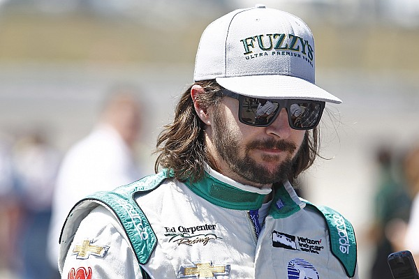 IndyCar Hildebrand content with runner-up finish at Iowa