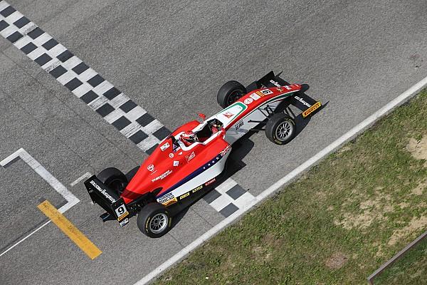 Formula 4 Gara Marcus Armstrong si aggiudica la seconda gara del Mugello